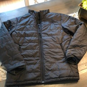 The North Face puffer jacket black size m